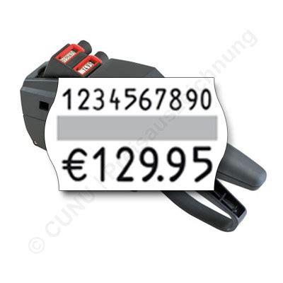 Etiketten Contact by Zweizeiliger Etiketten Auszeichner Contact Premium F 252 R