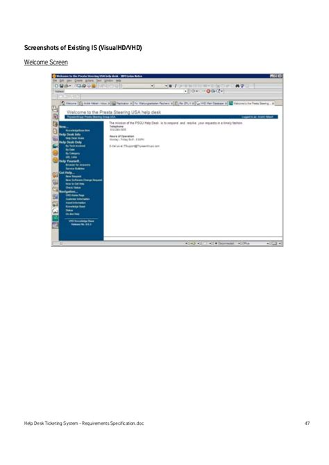 help desk ticketing system help desk ticketing system requirements specification