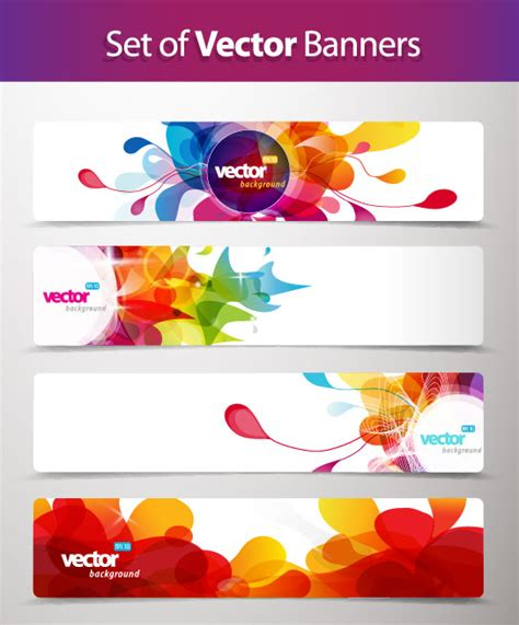 abstract design banners vector free download abstract creative banner free vector 01 vector abstract