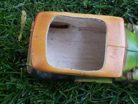 Inarco Planter by Vintage Inarco Ceramic Pottery Car Planter Car Model 1928