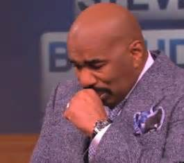 Steve harvey cries breaks down on his tv show after seeing very