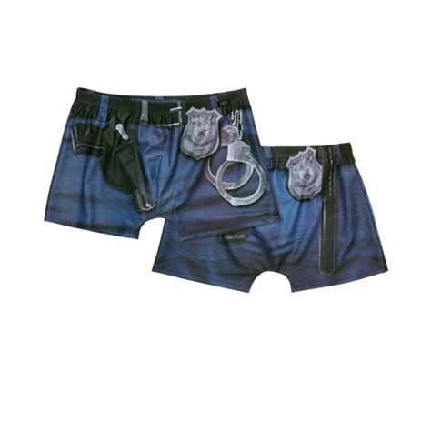 funny boxer shorts jbs police equipment  ties