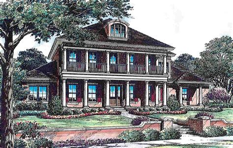 southern luxury house plans southern luxury 83351cl 1st floor master suite butler