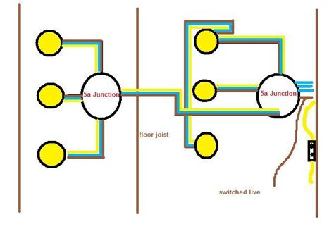 wiring diagram for kitchen spotlights wiring diagram