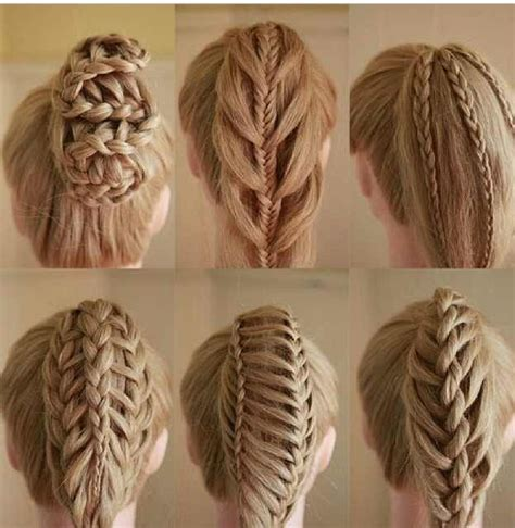 can you french braid hair army types of braids fun hairstyles pinterest plaits