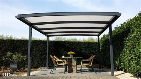 aluminium carport carports carports terrasoverkappingen sectionaal poorten