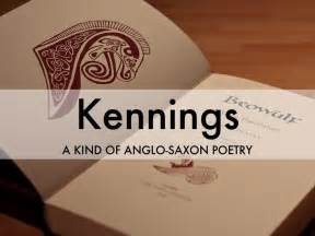 themes in anglo saxon literature kennings by linda pack butler