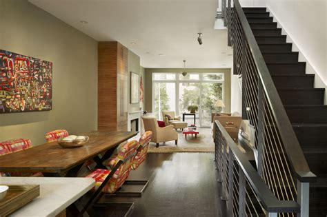 townhouse interior design ideas modern townhouse design with rooftop garden by brett