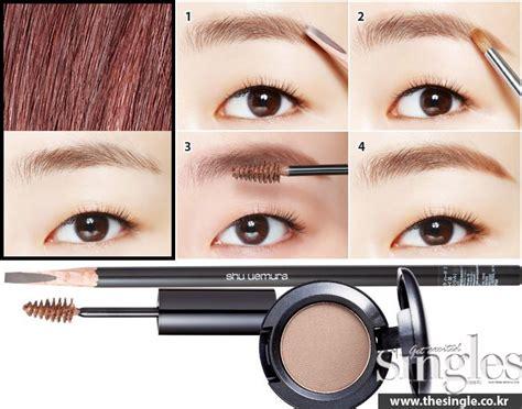 korean eyebrow makeup tutorial eyebrow tutorial korean makeup www piccassobeauty net
