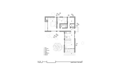 guest house floor plans designs capitol reef desert dwelling imbue design archdaily