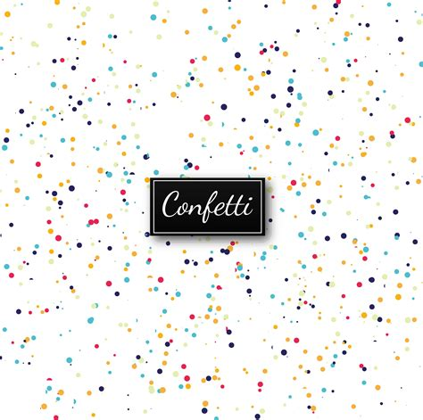elegant colorful confetti background vector   vectors clipart graphics vector art