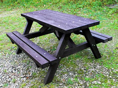 recycled plastic picnic benches ribble picnic table recycled plastic education