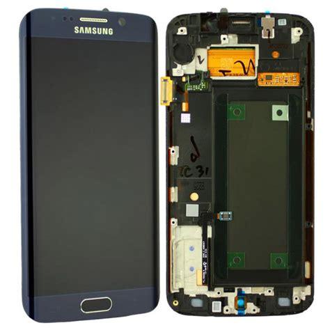Lcd Samsung S6 Edge coque avant et ecran lcd pour samsung galaxy s6 edge noir