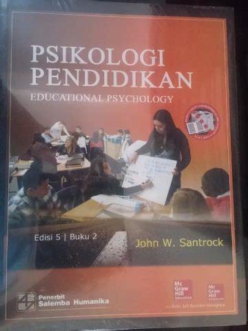 Psikologi Pendidikan 2 Edisi3 Santrock 27 daftar buku psikologi yang membawa anda menguasai ilmu