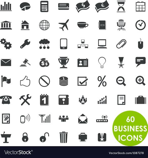 Business Vector Royalty Free Stock Images Image 1449729 60 Valuable Creative Business Icons Royalty Free Vector