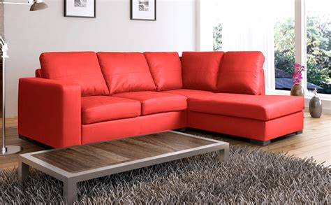 red leather corner sofa cheap red leather corner sofas uk brokeasshome com