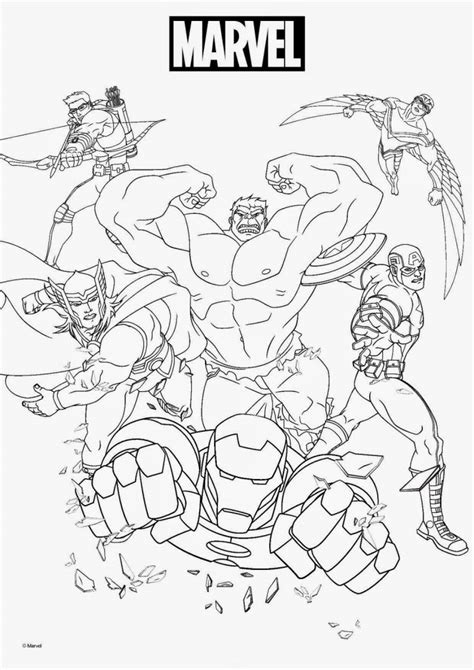 Marvel Coloring Pages To Print | marvel coloring pages best coloring pages for kids