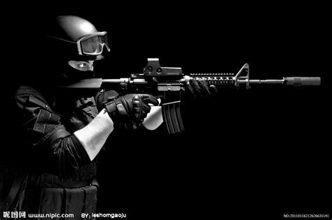 s w a t siege m4自动步枪摄影图 职业人物 人物图库 摄影图库 昵图网nipic