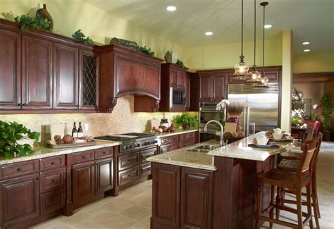 cherry wood kitchen island 37 high end wood kitchens photos designing idea