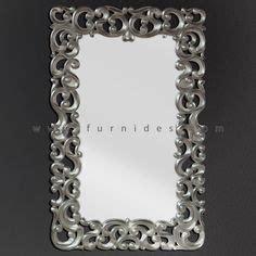 Cermin Besar cermin hias ukiran kayu pesegi furnides mirror frame
