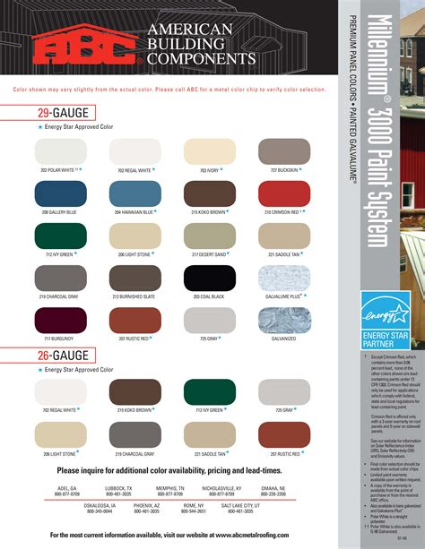 mbci color chart chart template category page 447 gridgit
