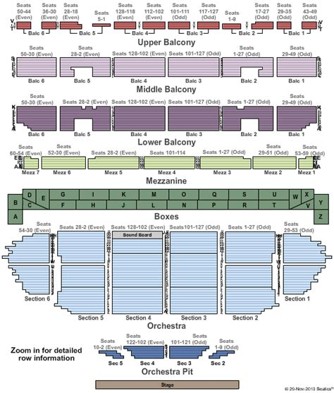 fox seating chart st louis motown the musical tickets seating chart fabulous fox