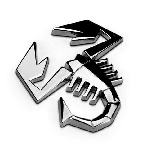 3d Aufkleber Abarth by 1pcs 3d 3m Car Abarth Ar Metal Adhesive Badge Emblem Logo
