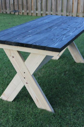 build  farmhouse picnic table