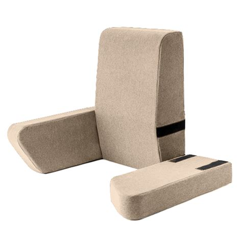armrest pillow for bed latte una bed rest support pillow reading cushion mobility