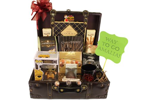 game  thrones gift basket