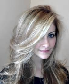 dark brown hair with white highlights long hairstyles