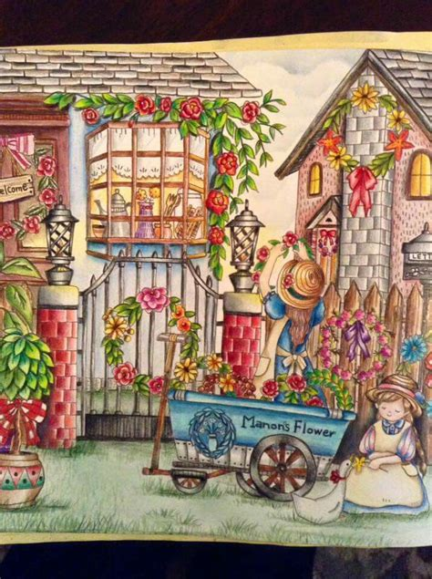 libro romantic country the third mejores 482 im 225 genes de romantic country coloring book en coloraci 243 n adulta libros