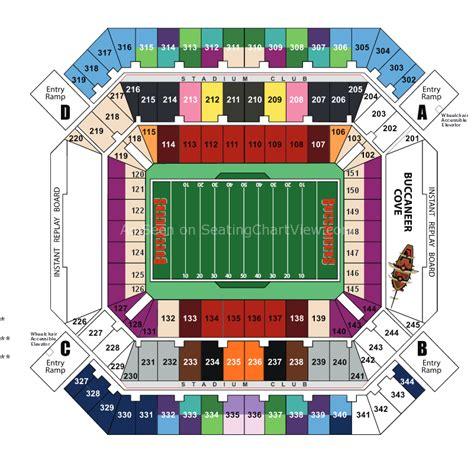 raymond stadium seating raymond stadium ta fl seating chart view