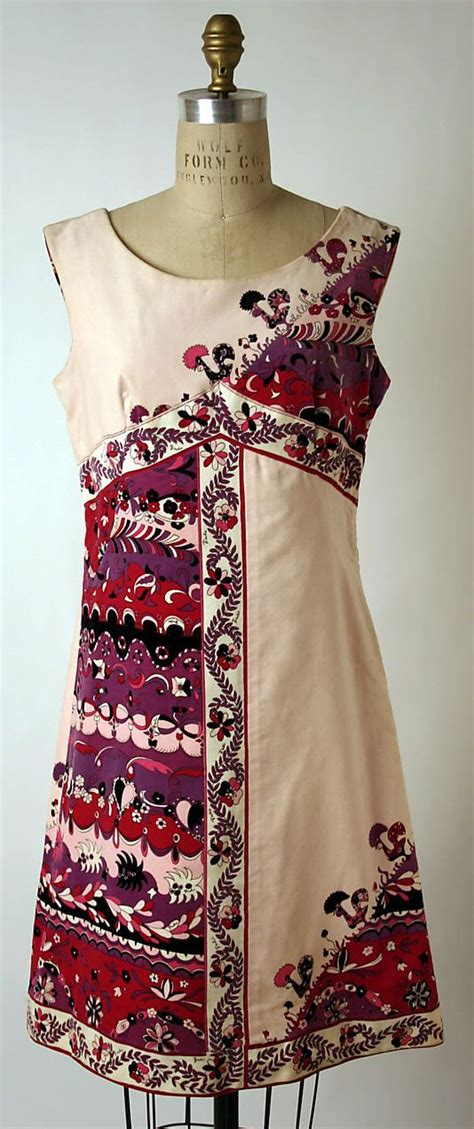 Sn Blouse Viera Mus Gil dress emilio pucci italian florence 1914 1992 date 1967 culture italian medium no medium