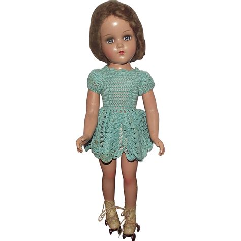 composition nancy doll vintage composition arranbee r b quot nancy skater doll