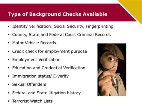 How Does Advantage Background Check Work Security Check Criminal Records Records United States