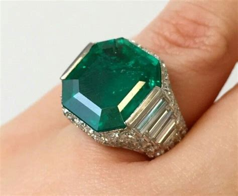 images  emerald rings  pinterest