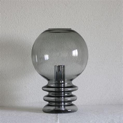 limburg illuminazione glash 252 tte limburg handblown smoked glass table l