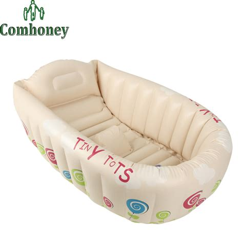 bathtub safety for toddlers inflatable baby bathtub cartoon safety inflating bath tub for toddlers kid portable