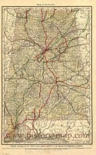 map of alabama alabama railroad map maps