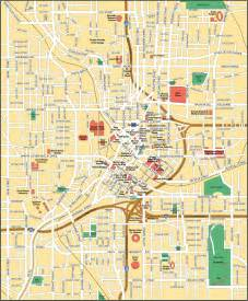 map of atlanta city maps of united states planetolog