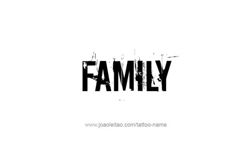 the word family tattoo designs the word family pictures to pin on tattooskid