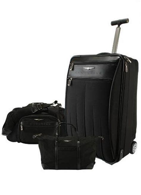 chrysler crossfire touring gear 3 pc luggage set