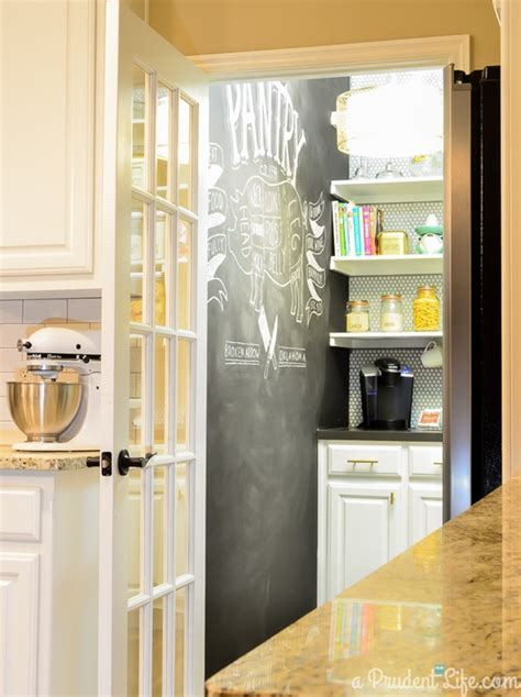 Prudent Pantry by Home Decorating With Black And White From Beddingstyle