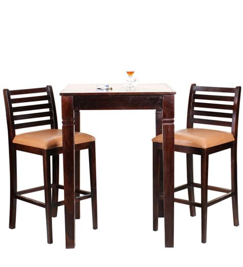 Two Seater Dining Tables Cartagena Two Seater Dining Table Set In Colonial Maple Finish By Woodsworth By Woodsworth
