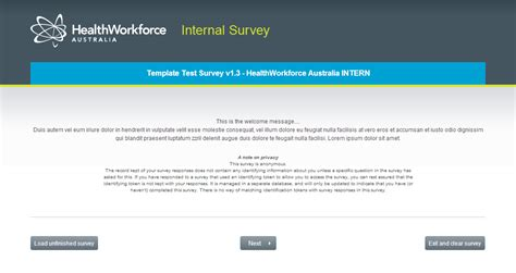 free limesurvey templates gallery limesurvey healthworkforce australia templates