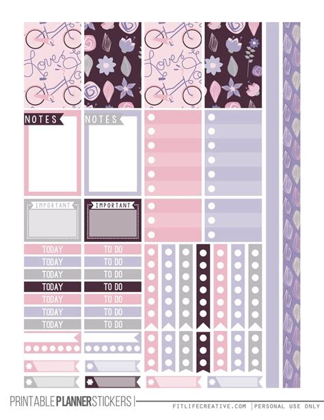 free printable planner pages classic size 162 best images about best of on pinterest happy planner