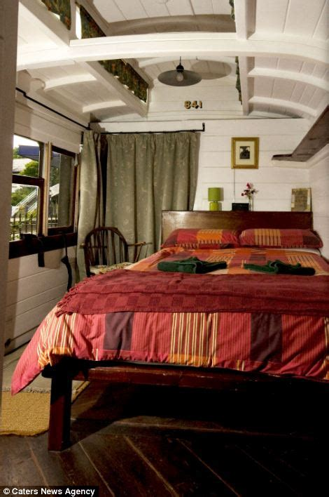 trains with beds inside the ebay train that s been converted into luxury