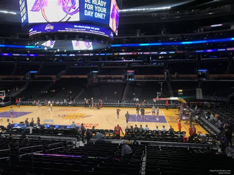 lakers courtside seat map staples center lakers courtside seating chart