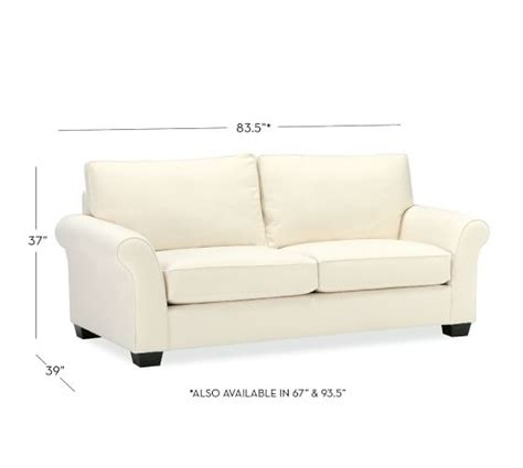 pottery barn comfort roll arm sofa pb comfort roll arm upholstered sofa pottery barn